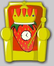 Strawberry Clock (I)