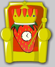 Strawberry Clock (I)
