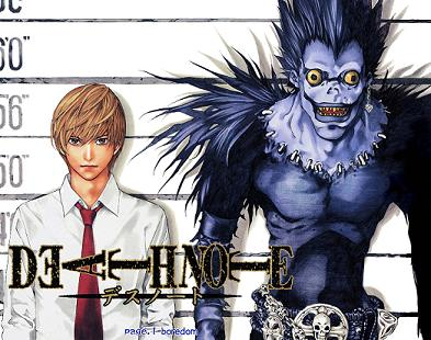 Death Note, tu antes molabas ...